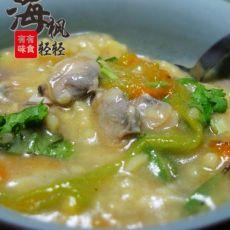 南瓜花棒棒面蛤肉疙瘩汤