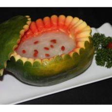 赛燕窝木瓜盅的做法