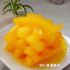 黄金橙汁萝卜条
