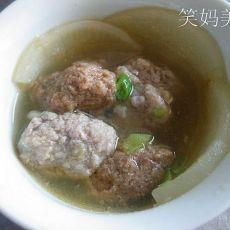 双色丸子汤