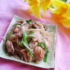 鲜蚝炒白萝卜丝