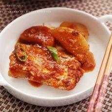 萝卜炖刀鱼