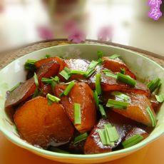 红烧蚝油萝卜
