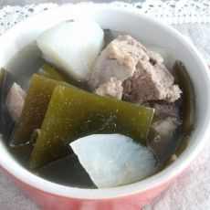 海带萝卜龙骨汤