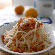 虾米炒萝卜