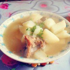 龙骨萝卜汤