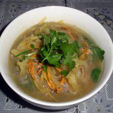 北虫草白萝卜丝汤