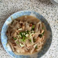 咸鱼虾干炒萝卜丝