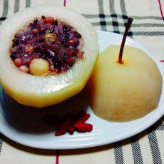 八宝酿秋梨的做法
