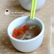 肉丝枸杞汤的做法