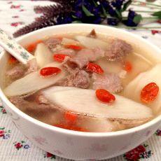 山药枸杞瘦肉汤的做法