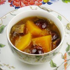 红枣银耳南瓜汤