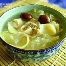 银耳百合猪骨汤
