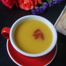 玉米枸杞子汁的做法