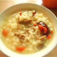 红枣枸杞粥的做法