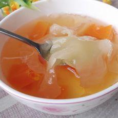 木瓜银耳甜汤