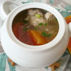 猪龙骨银耳木瓜汤