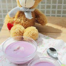 奶香紫薯银耳露