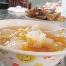 南瓜百合银耳甜汤