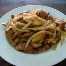 洋葱炒肉――夏日开胃家常菜的做法