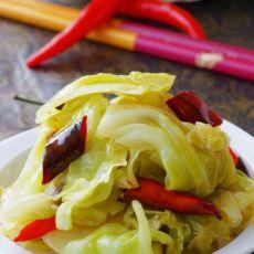 清香手撕圆白菜