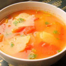 西红柿土豆汤