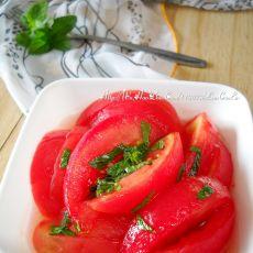 薄荷蜜汁番茄