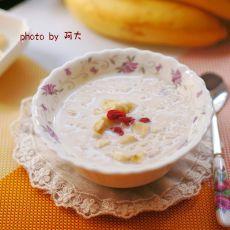香蕉燕麦牛奶