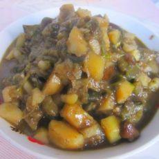 茄子土豆酱——东北菜