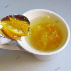 清润柚子茶――为女儿学做一道菜