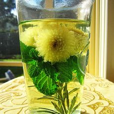 保健迷迭香菊花茶的做法