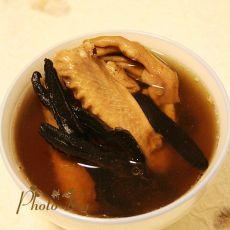 灵芝炖江鸭汤