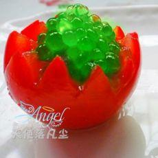苹果鱼子番茄盅