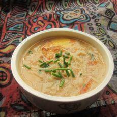 金针菇鸡蛋番茄汤的做法
