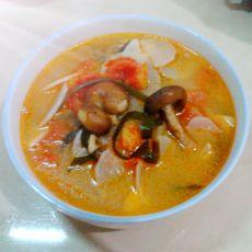 番茄海带萝卜汤