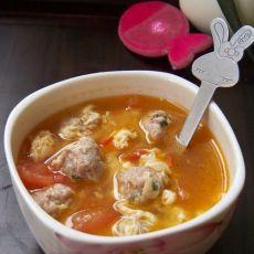 原创首发:番茄肉丸汤