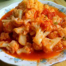 番茄烧花菜