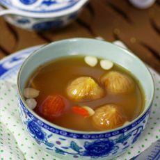 镇咳祛痰的无花果瘦肉汤的做法