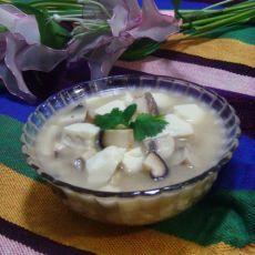豆腐蘑菇汤
