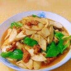 鸡腿菇炒肉