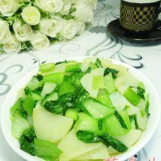 青菜炒土豆