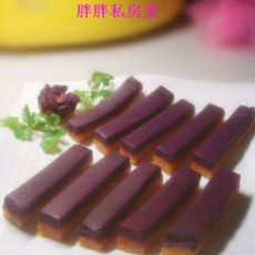 紫薯南瓜冻