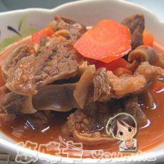 胡萝卜煲牛肉��