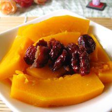红枣蒸南瓜