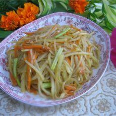 胡萝卜土豆丝