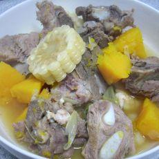 土豆玉米炖排骨