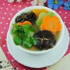 五彩汤的做法