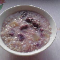 紫薯南瓜小米粥