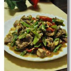 双椒小炒肉