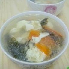 紫菜豆腐蛋花汤的做法